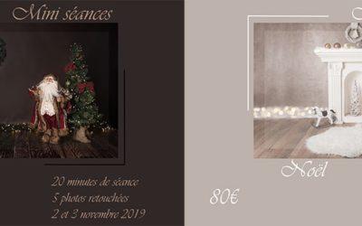 Mini séances photo noël dans l'Oise et en Seine et Marne