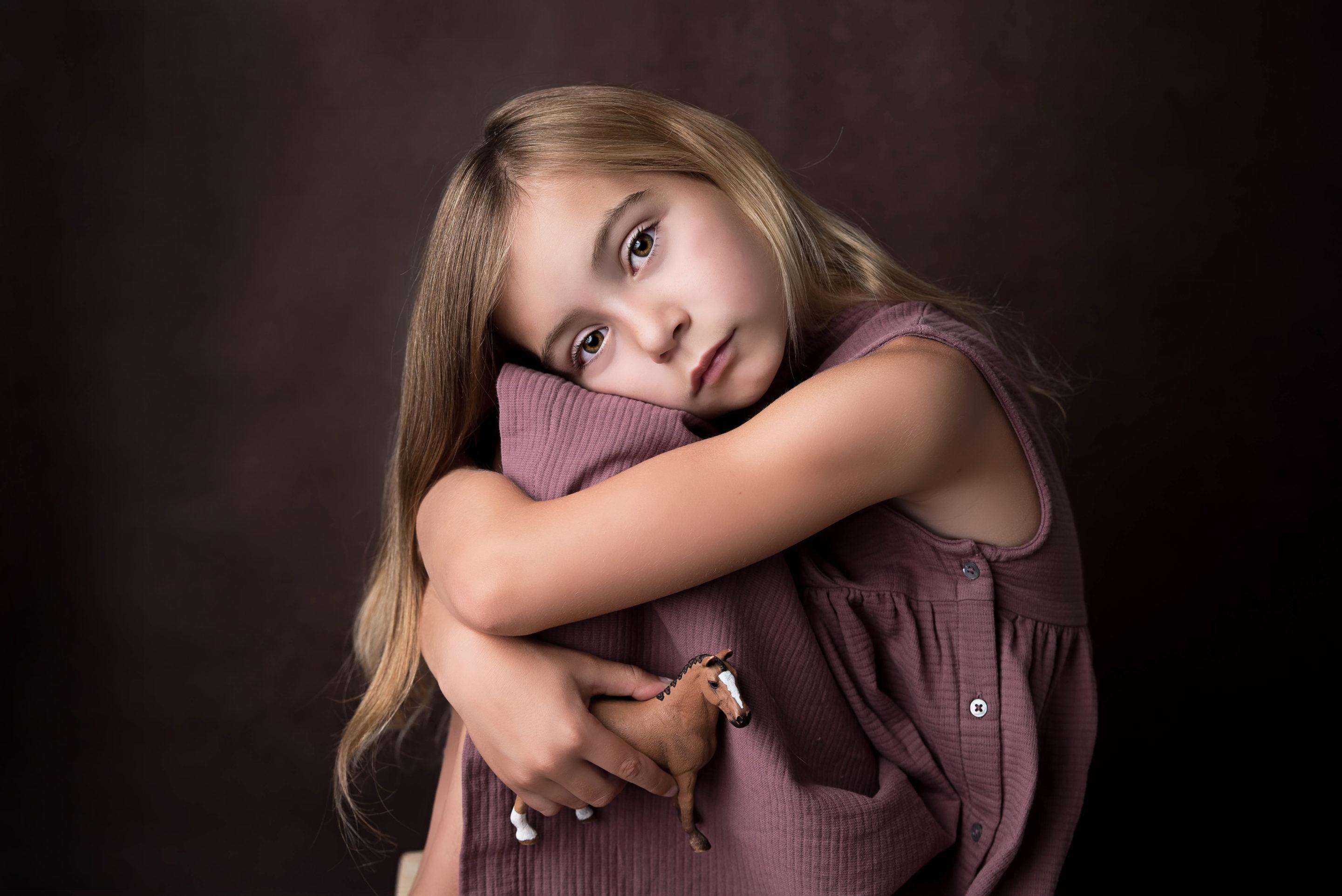 portrait fille cheval artistique photographe